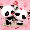 Rosa Panda Amore icon
