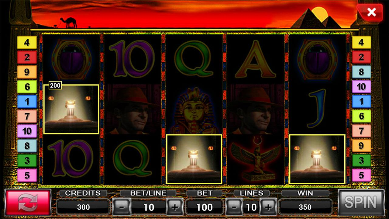Book Of Egypt Deluxe Slot - Free to Play Online Game