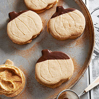 Creamy Pumpkin Butter Sandwich Cookies