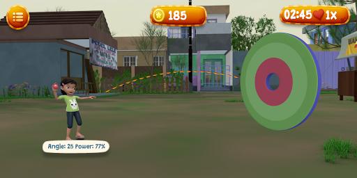 Lempar Bola Riska dan Gembul screenshot 5