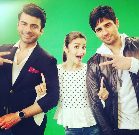 Sexy Alia , Hunky Siddharth and handsome Fawad Khan in peppy number