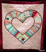 """Photo: #83-S, Sue Patch, """"Grandma's Heart"""""""