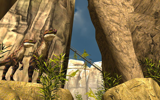 Real Dinosaur Rollercoaster Vr Apk Screenshot