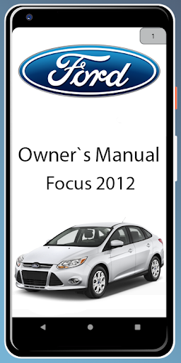 ford focus 2012 owners manual