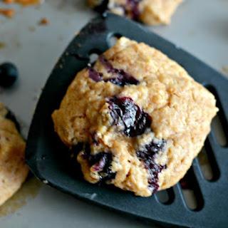 Blueberry Lemon Yogurt Breakfast Cookies