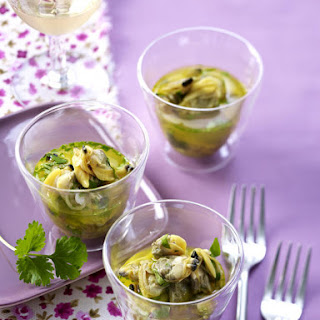 Chilled Mussels with Orange and Saffron