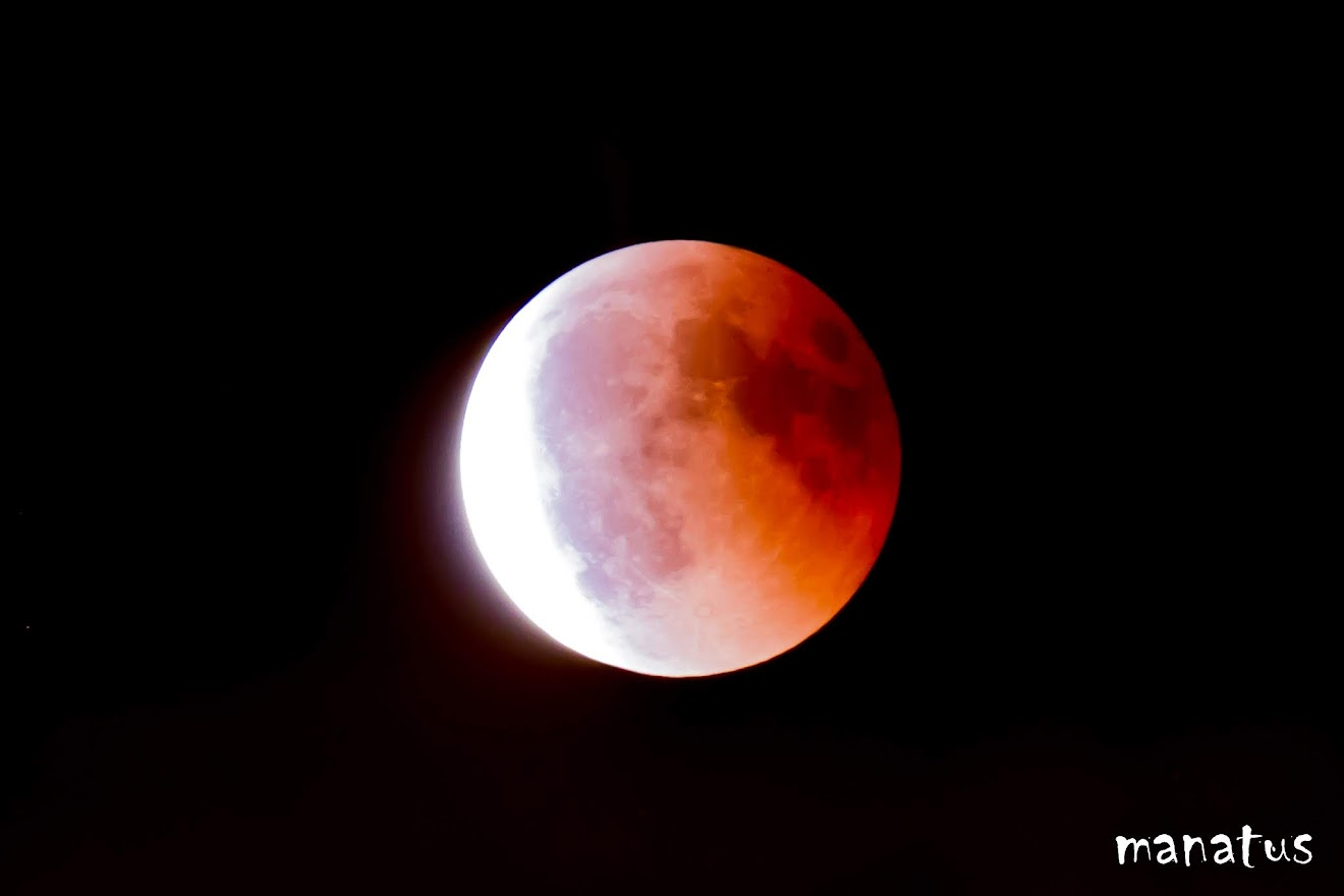 luna de sangre eclipse de luna
