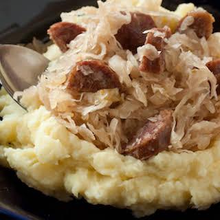 Good Luck Pork and Sauerkraut.