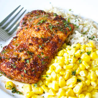 Chili-Lime Cod Fillets.