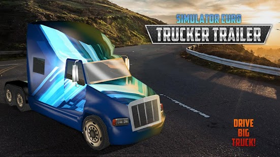 Simulator Euro Trucker Trailer - náhled