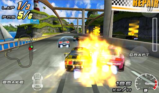 Raging Thunder 2 - FREE screenshot 3