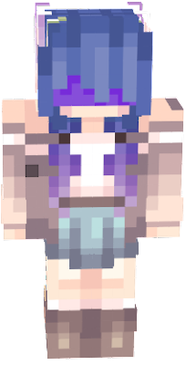 I edited this to put a darker bandana on the skin, and make it go around the head more