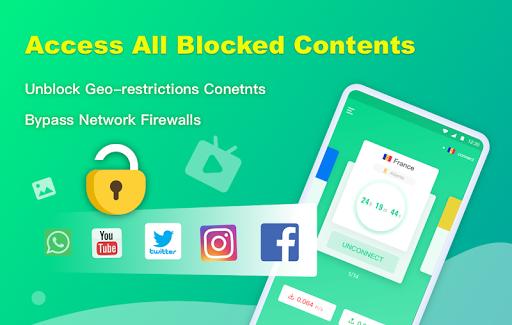 NetCapsule VPN   Free VPN Proxy, Fast VPN, Unblock screenshot 3