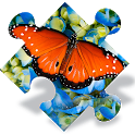 Butterfly Jigsaw Puzzles free icon