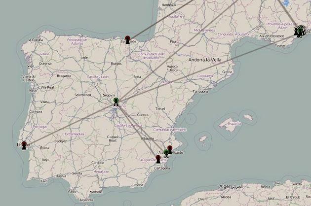 Mapa actualizado