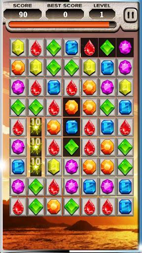 Jewel Crush Puzzle