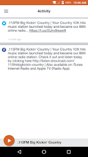 .113FM Big Kickin' Country- screenshot thumbnail