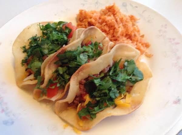 Delicious Tacos.  Hope You Enjoy Them!