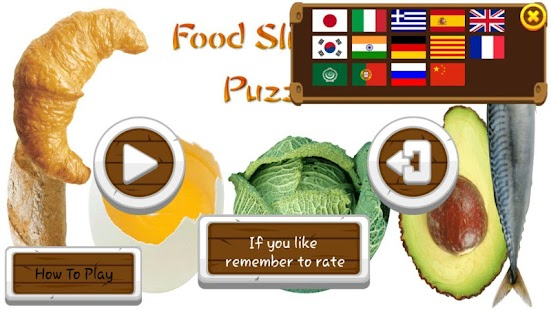 Food Sliding Puzzle Free- screenshot thumbnail
