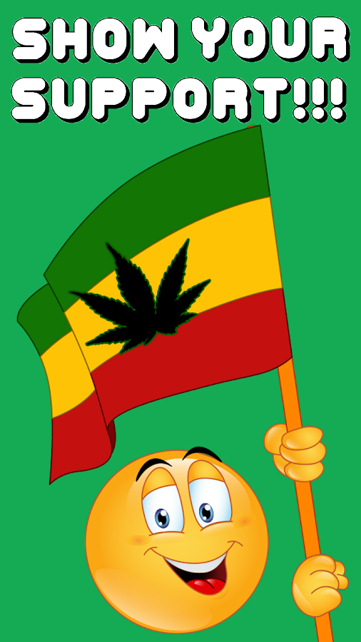 Weed Emojis 2 by Emoji World ™- screenshot