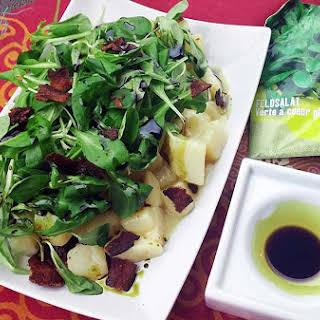Styrian Potato Field Salad | Erdäpfel Vogerlsalat.