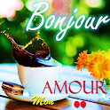 French Good morning Goodnight Love Messages icon