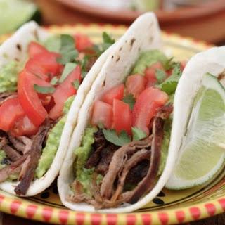 Tacos de Carne Marinada (Sirloin Steak Tacos)