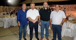 José Luis Heredia, Juan Fernández, Miguel Borra y Paco Iglesias.
