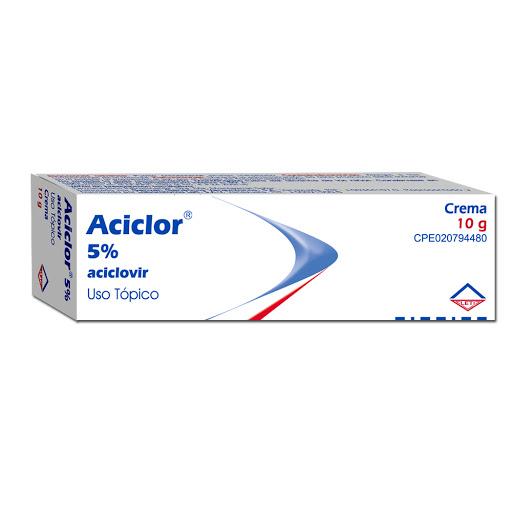 Aciclovir Aciclor 5% 10G Crema