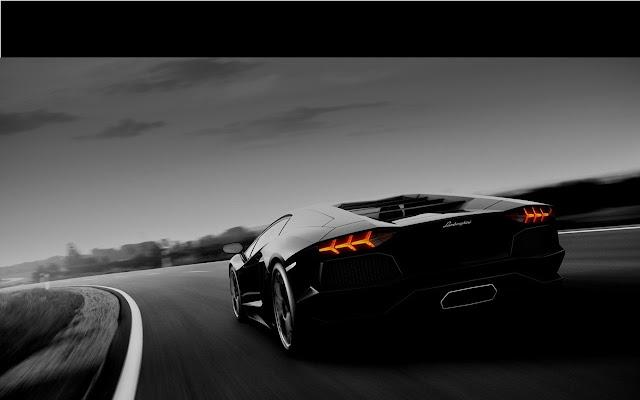 Black Lamborghini Chrome Web Store