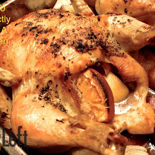 Roasted Chicken (Recipe adapted from Ina Garten).