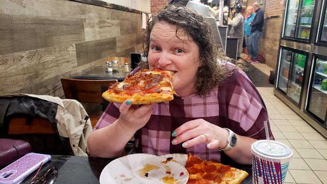 Traci at Claudio's Pizzeria