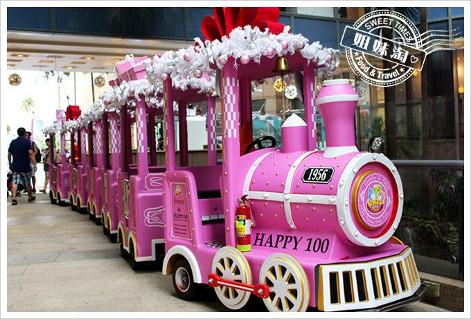 2016夢時代愛Sharing聖誕節小火車2