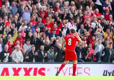"""Gerrard: """"Nous avons été très chanceux"""""""