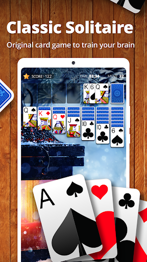 Solitaire by Cardscapes apkpoly screenshots 1
