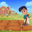 Ranchdale: Farm, city building and mini games icon