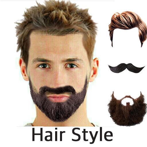 Hair Mustache Style Changer 遊戲 App LOGO-硬是要APP