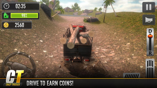 Crazy Trucker for Android apk 2
