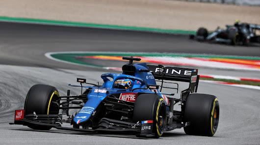 Un Gran premio decepcionante para Fernando Alonso