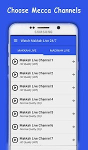 Watch Makkah & Madinah Live HD screenshot 1