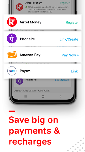Airtel Thanks - Recharge, Bill Pay, Bank, Live TV android2mod screenshots 2