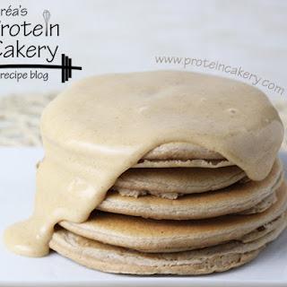 Iced Cinnamon Protein Pancakes