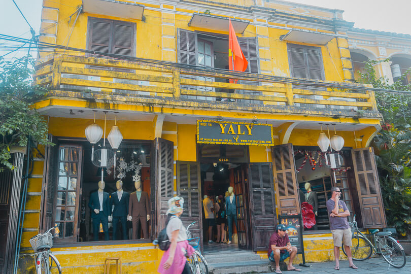 Yaly tailors, Hoi An, Vietnam.