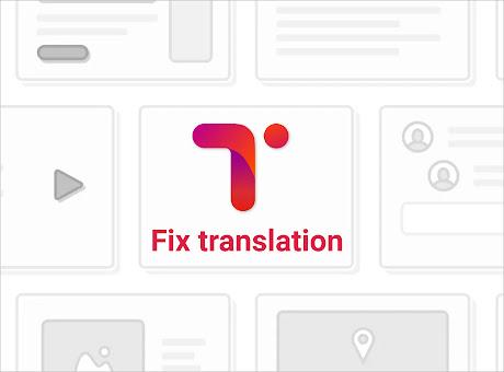 Fix translation