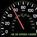 AE86 Speed Warning Chime Sound - Speedometer