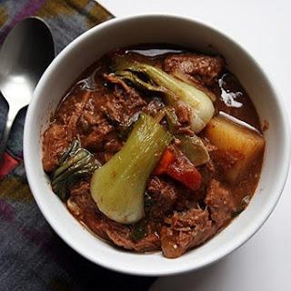Kathryn's Pork Sinigang Soup.