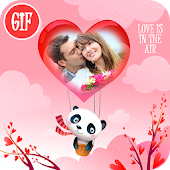 Valentine Love GIF Photo Editor