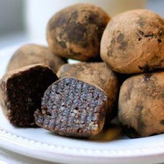 1. Raw Brownie Balls