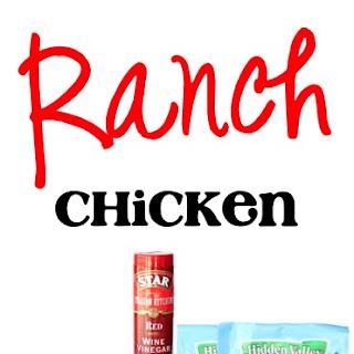Crockpot Ranch Chicken Recipe!