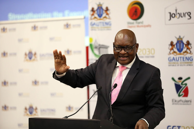 Gauteng premier David Makhura called on people to adhere to the restrictions and health protocols in all public places and at all times to avoid a third wave of Covid-19 infections. File photo.